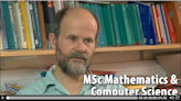 Detailed information about the MSc Mathematics and Computer Science course at the School of Mathematics.